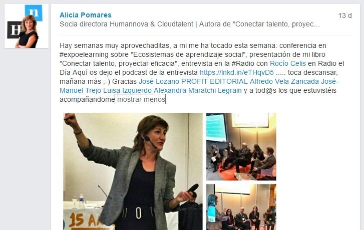 33Alicia Pomares en Linkedin